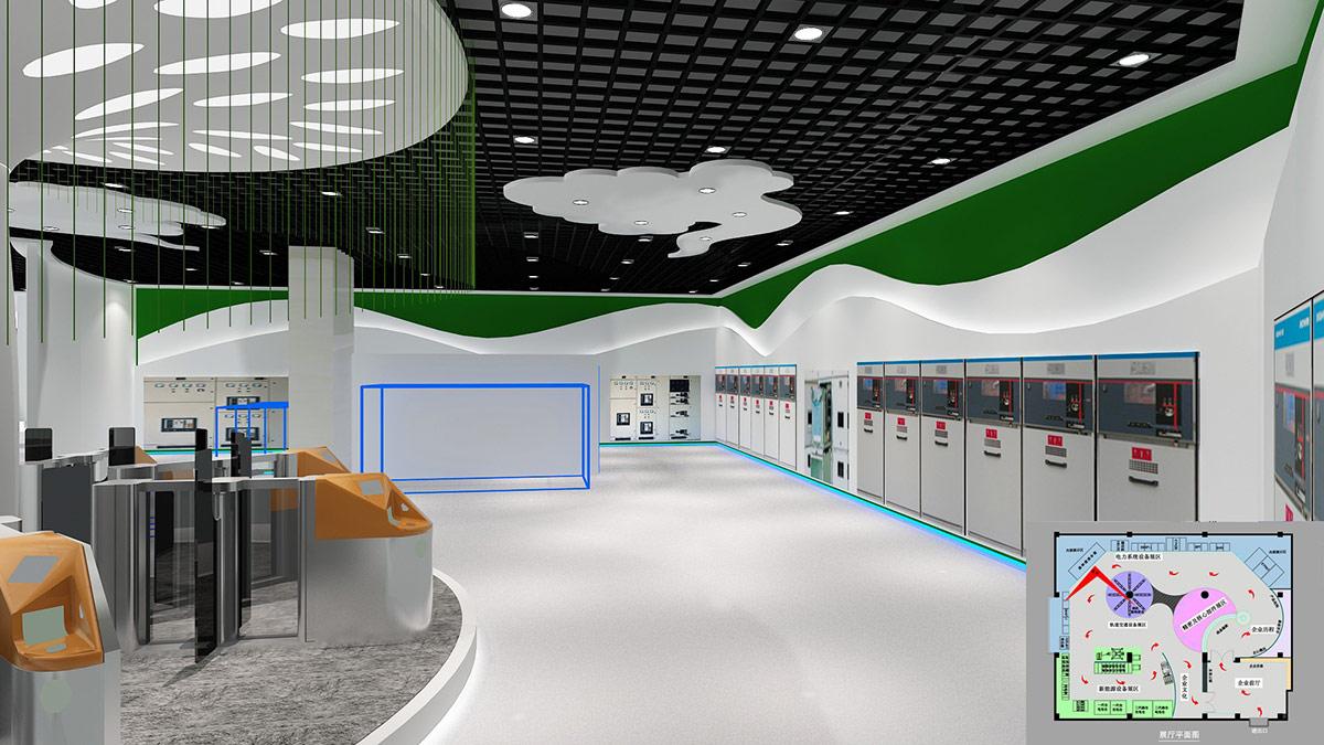 展厅设计的风格和流派都有哪些_施必得