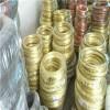 焊丝用H65黄铜线 0.1mm轴装黄铜线批发 耐腐蚀黄铜丝