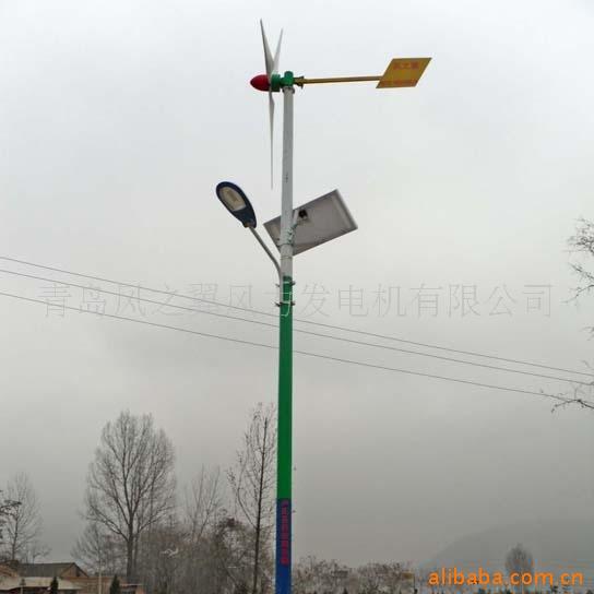 风力发电机厂家直销风光互补路灯,景观照明用