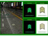 地铁夜光不锈钢导向系统标识 发光地铁消防紧急疏散指示标识