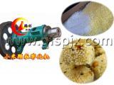 小颗粒谷物膨化机,米花糖颗粒膨化机,小米粒谷物膨化机