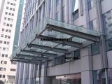 大连玻璃雨棚钢结构点式雨棚设计施工