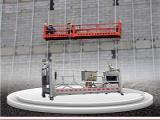 北京九虹铝合金电动吊篮抗倾覆能力强