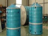 镀铝锌原水处理设备3吨立式不生青苔消防供水用水箱可定制