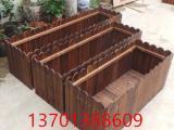 北京防腐木碳化木施工葡萄架 花架围栏地板