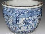栽花种树陶瓷缸,陶瓷大缸定做厂家批发及零售