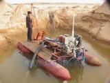 山东金泉30KW江河专用高耐磨抽沙泵 抽砂泵