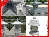 供应石雕灯笼 景观石灯石塔 仿古石灯 青石石材雕刻