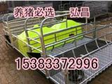 新款母猪双体产床尺寸2100*3600弘昌低价出售