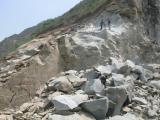 硅灰石替代爆破开采设备岩石分裂机