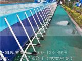 支架游泳水池参数值支架游泳池儿童水上乐园视频