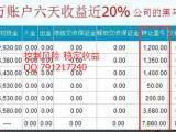 海川新盟开户现货投资理财专业团队分析指导日返佣