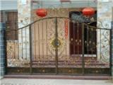 聊城定制铁艺大门、欧式大门、别墅铁艺门、铝艺门