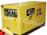 户外常用大型10千瓦柴油发电机供货商