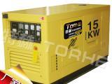 大型水冷15千瓦柴油发电机品牌