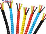螺旋保护套缠绕管 加油站加油管专用保护套 耐磨性能优良