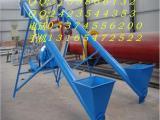 石灰砂石螺旋提升机定做 可垂直上料的螺旋绞龙提升机x7