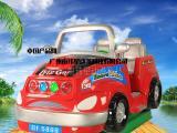 广州南玮星越野车大型投币摇摆机游艺机设备