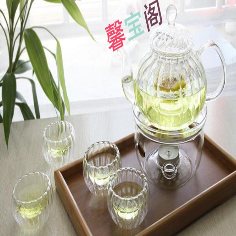 高硼硅耐热玻璃茶壶。花茶壶,凉水壶
