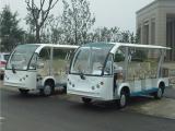 供应11座电动观光车,房地产看房接待车,酒店旅游游览车