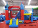 充气蹦床滑梯,定制滑梯城堡,儿童户外游乐设施