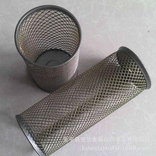 定做金属网过滤筒 工业过滤桶 焊接滤筒 过滤网筒