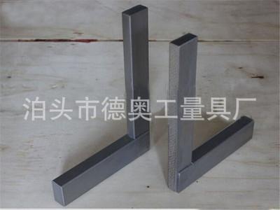 镁铝宽座直角尺 现货铝镁合金宽座直角尺 镁铝测量直角度