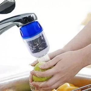 居家厨房必备 水龙头过滤器净水器 双重过滤负离子竹炭渗透滤水器