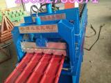 840彩钢压瓦机840琉璃瓦机屋顶瓦专用设备 一机二用机