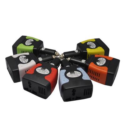 75W笔记本车载充电器汽车电源12V转220V逆变器汽车转换器