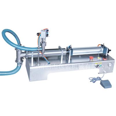 半自动液体灌装机、气动灌装机、食用油灌装机、饮料灌装机