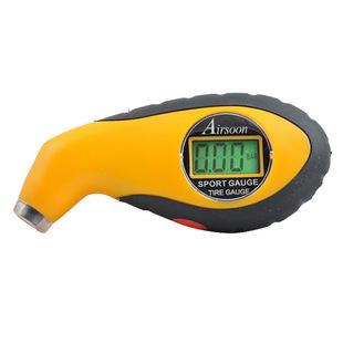 液晶数显胎压计准 LED灯胎压表 电子数字气压表