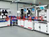 汽车玻璃升降器生产装配线