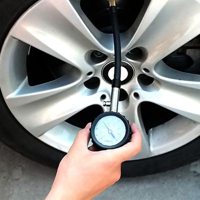 汽车胎压计 车用数显胎压表 监测不锈钢轮胎气压表测