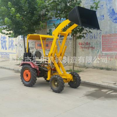 小型装载机 水泥装车机 轮式小型铲车 轮式挖掘装载机小铲车