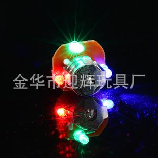 大号发光戒指灯 承接各类闪光电子配件焊接加工