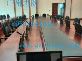 供应志欧无纸化会议系统高清超薄一体机升降器会议桌价格