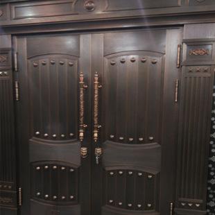 铝头不锈钢龙纹管铜门把手配套把手拉手拉丝工艺葫芦头皇冠奖杯