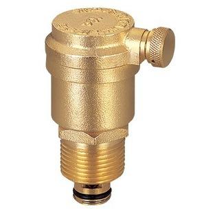 全铜自动排气阀暖气排气阀 管道水管放气阀4分6分1寸DN15DN20DN25