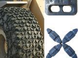 亚狼链业生产1200-20轮胎防滑链 矿山专用