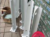 钢化玻璃雨棚支架 雨棚钢梁 雨棚牛腿钢结构加工定做