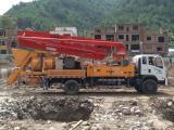 天拓重工小型混凝土输送泵,搅拌泵车厂家直销,全国包上牌