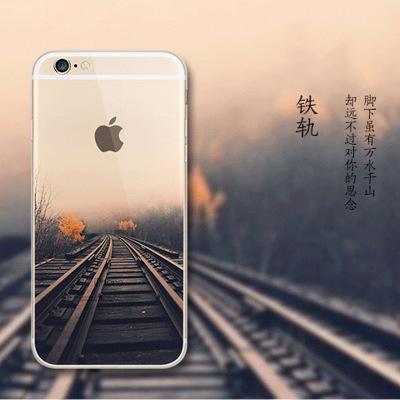 卡卡西 IPHONE6彩绘手机壳/i6手机套/tpu保护套/苹果6防摔保护壳