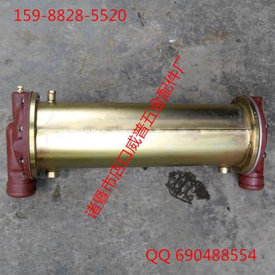 12V135G柴油机油冷却器 列管式油水散热器 现货批发零售