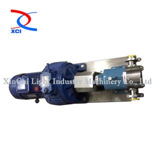 卫生级不锈钢转子泵,浓浆转子泵