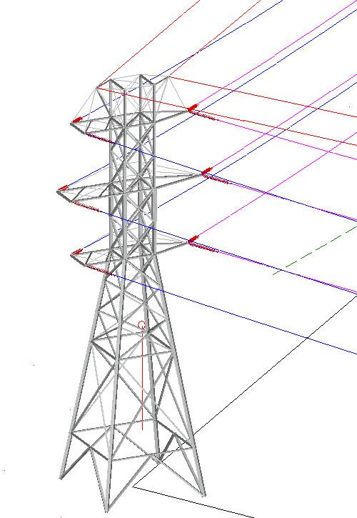 架空平�_架空输电线路三维勘测平断面设计软件