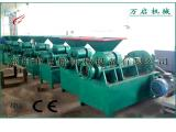 180型炭粉成型机的生产过程WQ