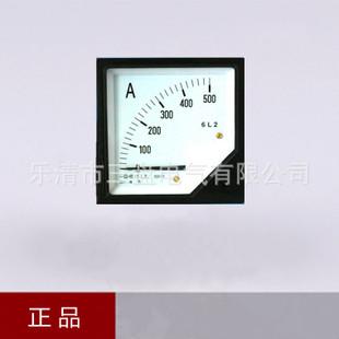 6L2交流电流表 接互感器交流电压表 500/5