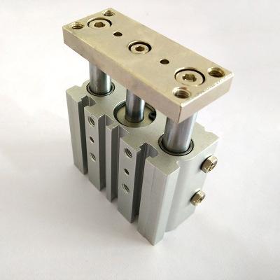 亚德客型三轴气缸 TCL系列导杆气缸定做 气动元件厂家非标定制