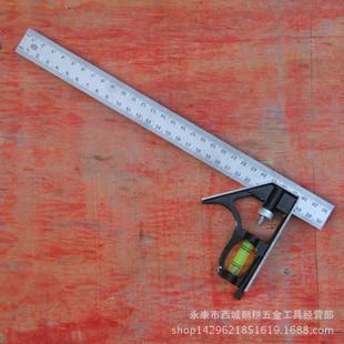 多功能水平调节角度尺 组合角尺厂家批发 活动角尺